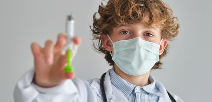 От гриппа привили уже более 18 тысяч детей