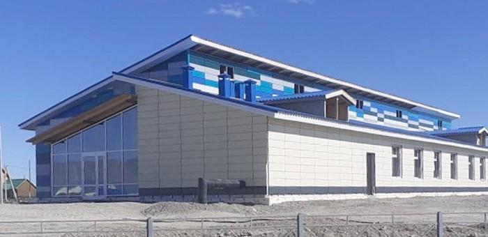 Строительство Дома культуры в Новом Бельтире близится к завершению