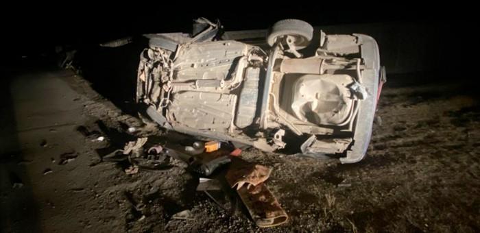 Два подростка в Кош-Агаче устроили гонки на автомобилях ночью и попали в больницу