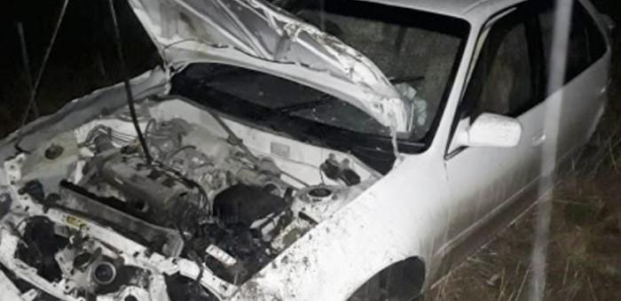 Нетрезвый водитель перевернул иномарку на Чуйском тракте
