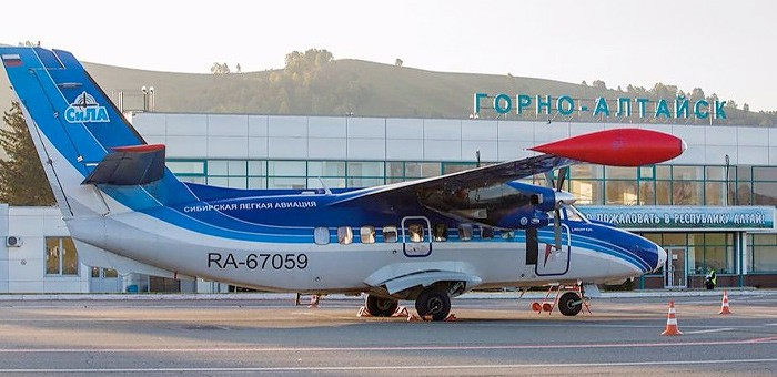 Авиакомпания «СиЛА» приостановила полеты в Кош-Агач и Усть-Коксу
