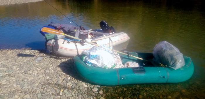 Два жителя Кузбасса незаконно наловили на реке Лебедь мешок рыбы