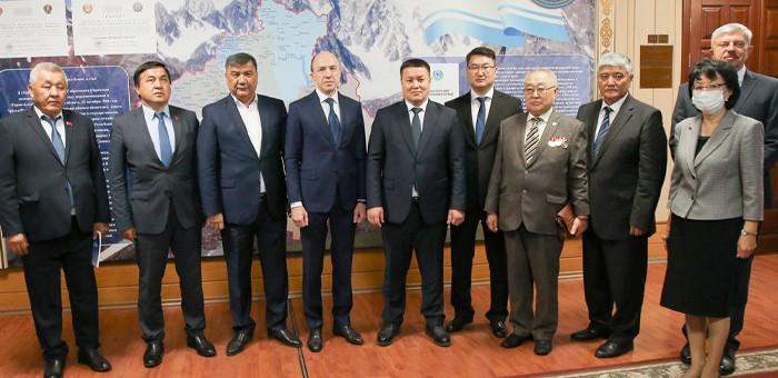 Делегация Киргизии посетила Республику Алтай
