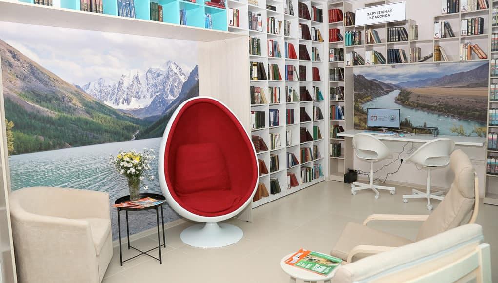 Модельная библиотека открылась в селе Майма