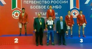 Спортсмен из Республики Алтай стал победителем Первенства России по боевому самбо