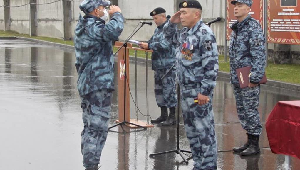 В Республике Алтай отметили годовщину создания ОМОН