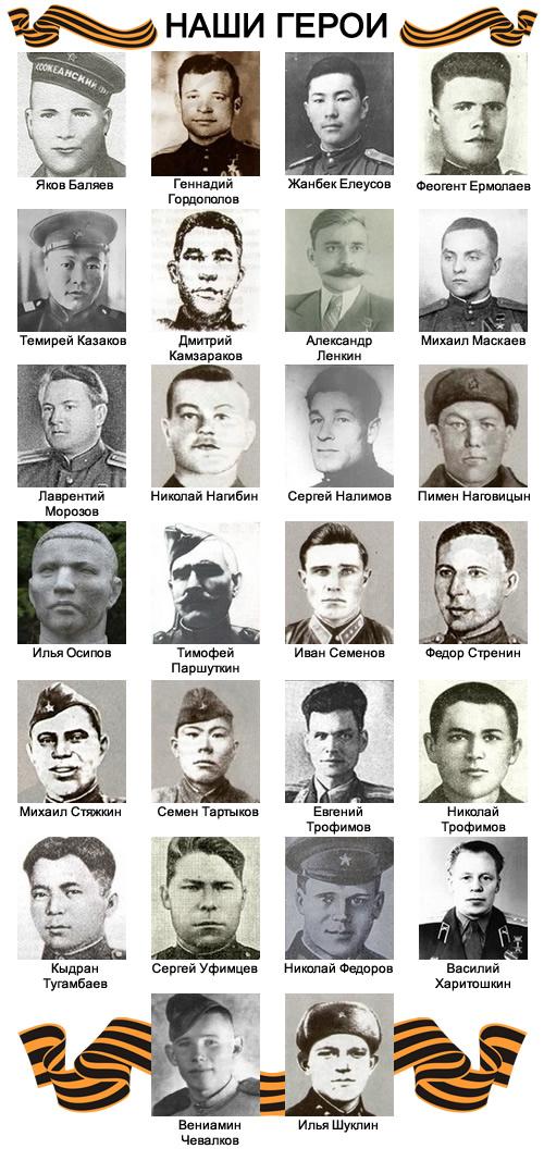 Наши герои
