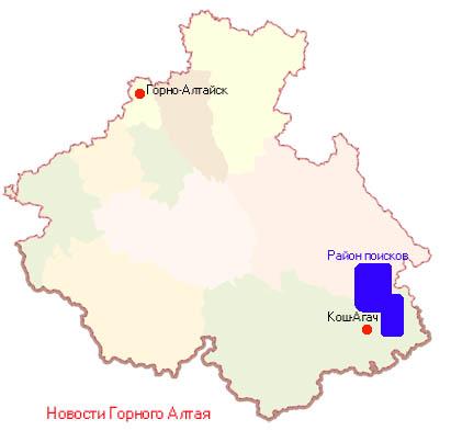 Пропавший Ми-8 ищут на северо-востоке Кош-Агачского района