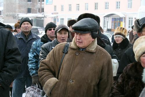 Руководитель организации «Эне Тил» Владимир Кыдыев