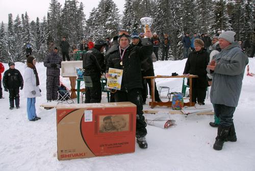 Главный приз достался горно-алтайцу Андрею Калугину. Фото А.Тырышкина