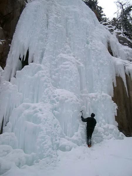 Водопад Шинок зимой. Фото с сайта rusnorth.ru