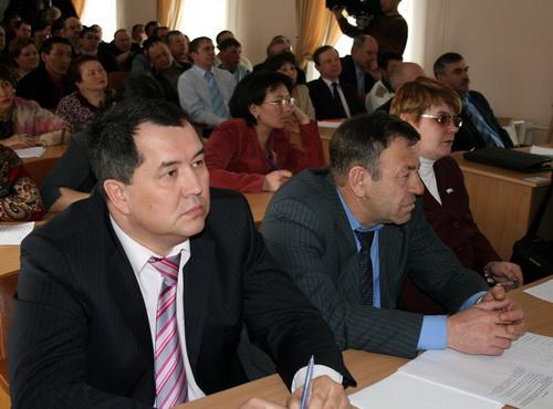 На совещании в администрации Шебалинского района