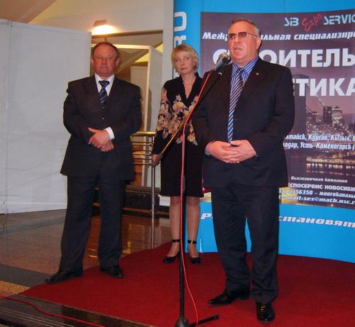 Александр Бердников назвал открывшуюся выставку «выставкой созидателей»