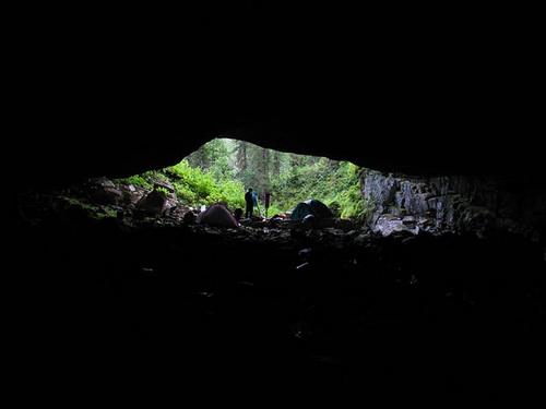 Вид из Азасской пещеры (фото Сергея Величко)