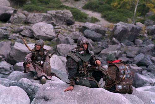 Съемки фильма в Горном Алтае (фото с сайта chingiskhanfilm.ru)