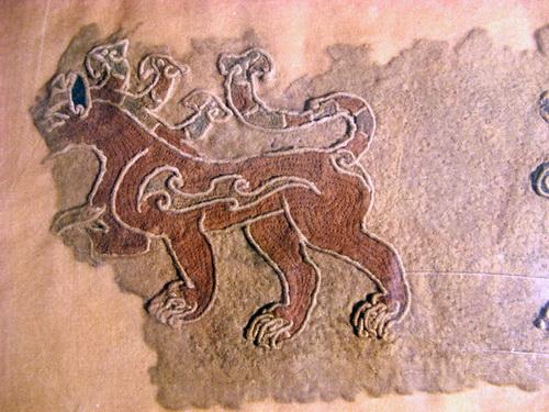 Одна из находок монгольской экспедиции новосибирских археологов (фото Антона Лучанского)
