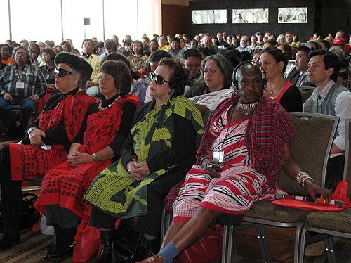 Участники World Indigenous Peoples Climate Summit