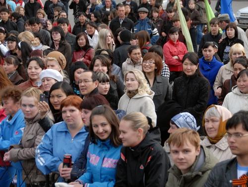 Около 3 тыс. человек пришли на праздник
