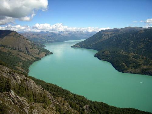 Озеро Канас (фото с сайта panoramio.com)