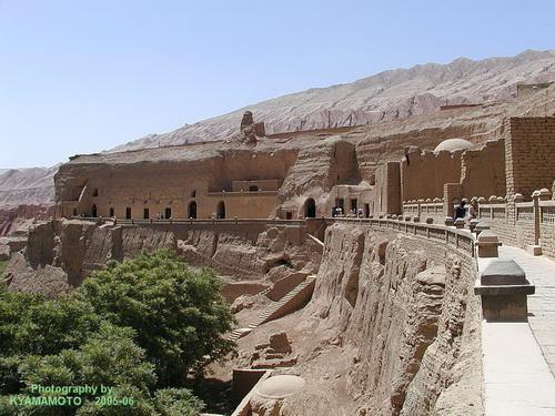 Пещеры тысячи будд (фото с сайта panoramio.com)