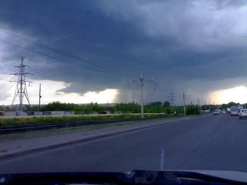 Грозовой фронт (фото: «Атмосфера»)