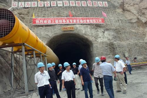 На месте строительства ГЭС