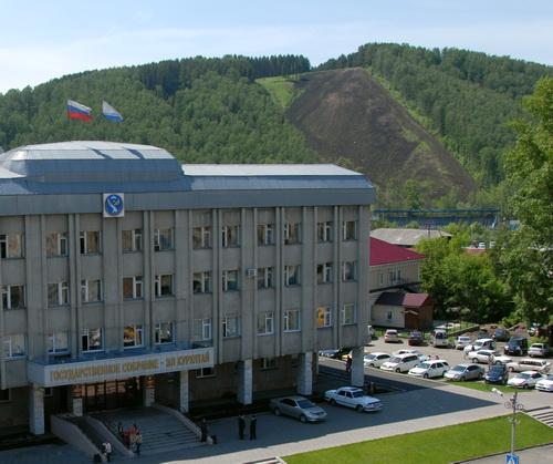 Гора Комсомольская в Горно-Алтайске