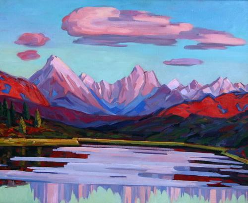«Отражение гор», 2003 год