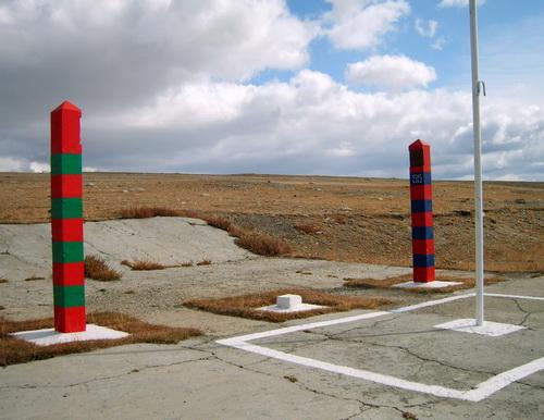 Российско-монгольская граница на переходе Ташанта – Цаганур, перевал Дурбэт-даба
