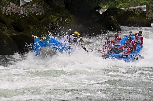 Соревнования на реке Врбас (фото 2009wrc.com)