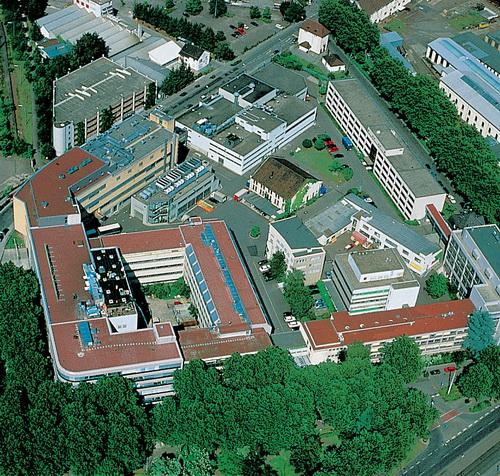 Штаб-квартира компании в Карлсруэ