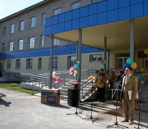 В Усть-Коксе открыта первая очередь райбольницы