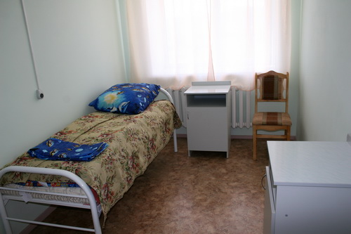 Палата в новой больнице