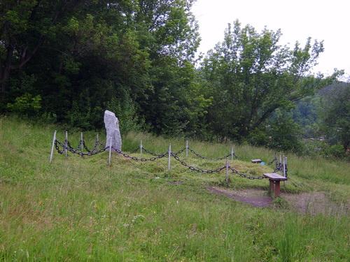 Место захоронения погибших от коммунистического террора
