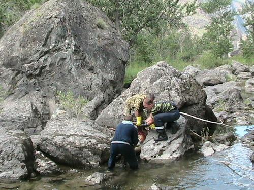 Тело удалось обнаружить благодаря тому, что спал уровень реки
