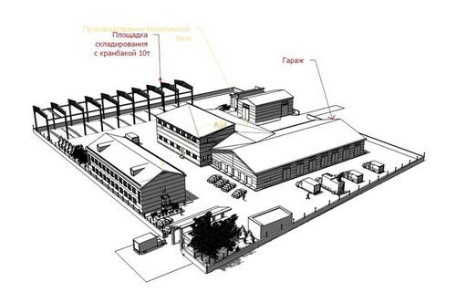 Проект производственно-эксплуатационной базы «Алтайской Долины»