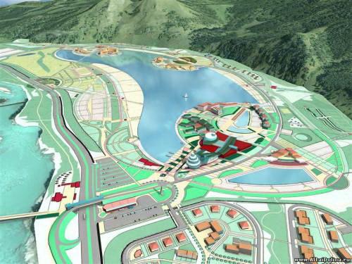 Проект планировки объектов на «Алтайской Долине»