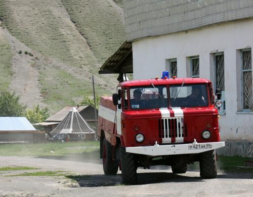 Новый автомобиль пожарной охраны