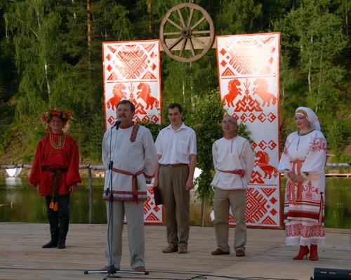 Праздник открыл глава Турочакского района Николай Болтухин