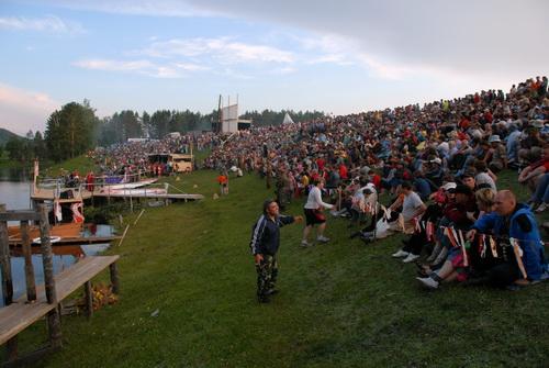 На празднике присутствовали более 4 тыс. гостей