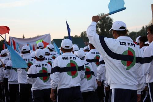 Самая нарядная команда – Кош-Агачского района