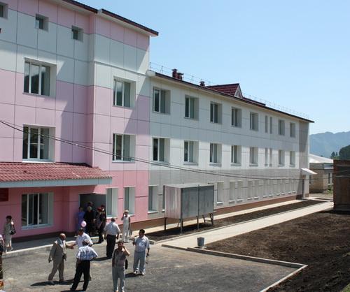 Здание новой больницы