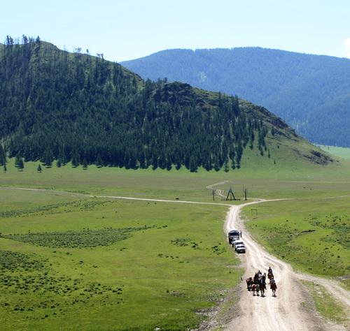 Экспедиция будет проходить по 45-50 км в день