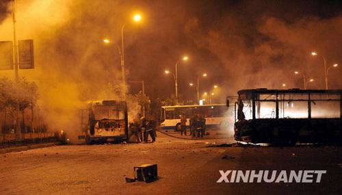 Последствия беспорядков в Урумчи