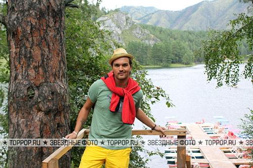 Панайотов принял Горный Алтай за восьмое чудо света (фото)