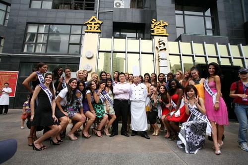 Участницы Miss Tourism International 2009