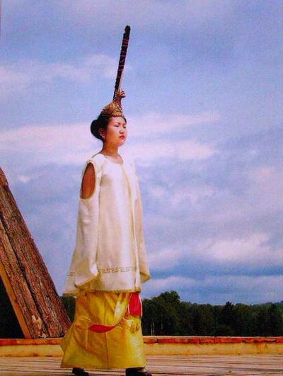 Реконструированный костюм принцессы Укока