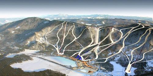 Проект горнолыжного комплекса на Синюхе