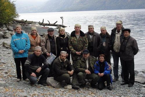 Руководители заповедников на Телецком озере