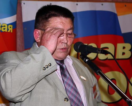 Александр Бардин рассказал однопартийцам о собственном желании